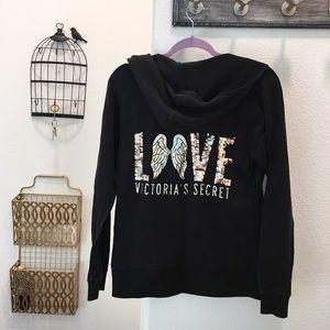 Victoria secret Wing back hoodie